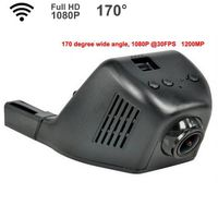 Full HD 1080P Hidden 170 Degree WIFI Car  DVR