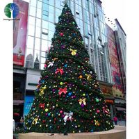 Outdoor christmas tree mall Christmas decoration