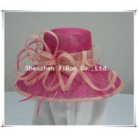 YRSM13063 wedding hat, sinamay hat, church hat,occasion hat,derby hat, race hat thumbnail image