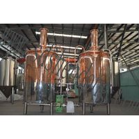 red copper luxury beer equipment