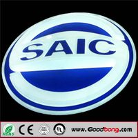customized Vacuum Acrylic Illuminated LED car emblem