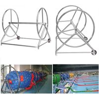 304 Stainless Steel Demountable Swimming Pool Divider Lane Roller With Reel thumbnail image