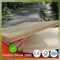 Eco-friendly 3 ply 19mm laminated bamboo plywood price carbonized bamboo plate
