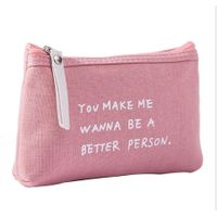 3 Side Seal Pouch With Zipper Window Imitation Leather Binder Zipper Pouch Stand Up Pouch Packing Ma thumbnail image