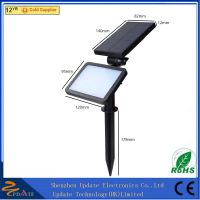 CE RoHS ABS 48 LED solar powered spot light outdoor wall lamp for garden thumbnail image