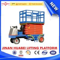 SJPT-ZX self propelled scissor lift platform