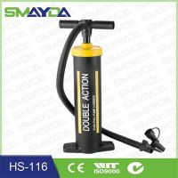 Plastic Colorful Multifunctional hand air Pump HS-116