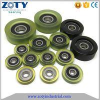 Polyurethane roller bearings