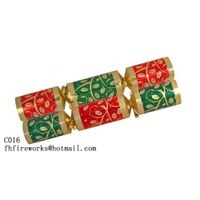 C016 Red & Green Gold Christmas Crackers Inquire now