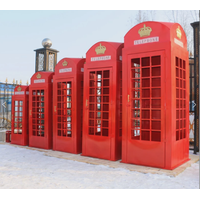 Telephone booth for decoration office telephone booth customized traditional telephone booth