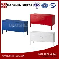 Red Cabinet Stand Multi-use Lockable Sheet Metal Fabrication