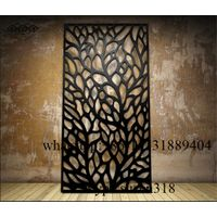 stainless steel laser cut room divider panel thumbnail image