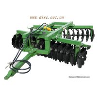 disc harrow in farm machinery