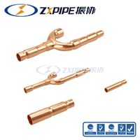 Y Joint Kits/Refnet/Copper Branch Pipe/Branch Joint for Media