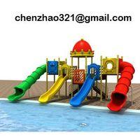 kids slide for amusement park plastic playset YST-3010A