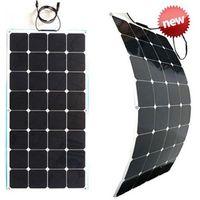 sunpower 12V 100w semi flexible solar panel
