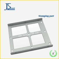 High precision metal shelf bracket