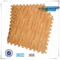 Soft and hot sale wooden patten EVA mat thumbnail image