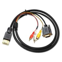 HDMI to VGA 3RCA Audio video component cable thumbnail image