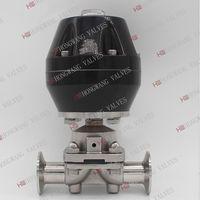 Stainless Steel Sanitary Pneumatic Clamped Membrane Diaphragm Valve thumbnail image