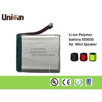 40-8500mAh 3.7V Li-ion Polymer Batteries