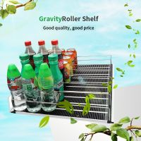 Professional Auto Front Gravity Roller Graviry Rollers Pusher for Freezer Display Shelf