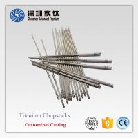Hot sale titanium chopsticks suppliers in China