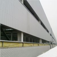 China Construction light steel structure prefab steel frame box packing workshop thumbnail image