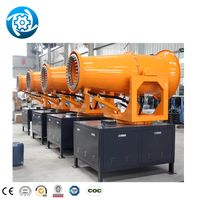 street dust fighter disinfection electric pesticide sprayer and dust suppression system water fog ca thumbnail image