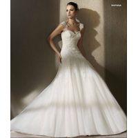 Goingwedding Sheer Straps Sweetheart Corset New Model 2013 Wedding Dress SP012