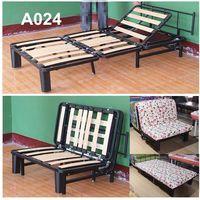Cheap folding wood slat sofa bed mechanism A024