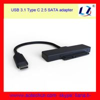"""10Gbps 2.5"""" sata usb type c adapter cable thumbnail image"""