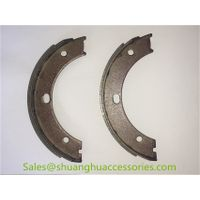 HEBEI001 brake shoes for Fiat auto car,non asbestos,good quality steel.