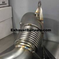 Exhaust bellows suppliers of exhaust bellows planned inventory 1.5 to 4 inch