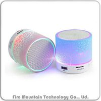 HLD-600 Colorful Led Portable Wireless Mini Bluetooth Speaker thumbnail image