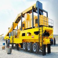 Widely used mobile cone crusher machinery for aggregate production plant