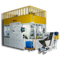 Automatic conveyor spraying painting machine for regular metal parts