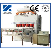 Hot Press equipment for short cycle press machine