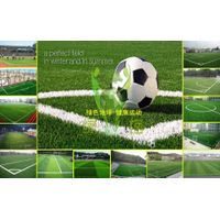 Soccer artificial turf grass