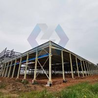 Light Gauge Steel Framing Prefabricated House / Factory / Shed Steel Structure Drawing thumbnail image