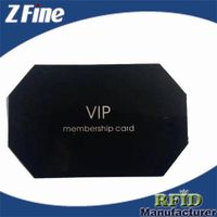 Metal card-black