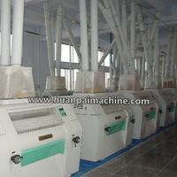 automatic wheat flour processing machine, maize flour mill, roller mill