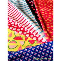 printed fabric for swimwear