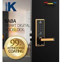 Smart Digital door lock BABA-8100 Swipe Card Code Opening Electronic Door Locks thumbnail image