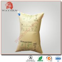 Manufacture Kraft paper inflatable air dunnage bag with SGS certification