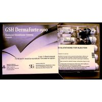 GSH DermaForte 1500mg glutathione injection for skin whitening and anti oxidant