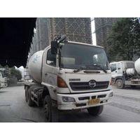 used concrete mixers hino 500 truck mixer 6cbm 8cbm