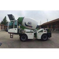 selfing feeding concrete mixing truck