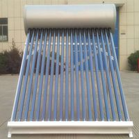 aluminium alloy new design stainless steel pressurized solar hot water heater