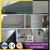 Construction Material Fiber Cement Boards